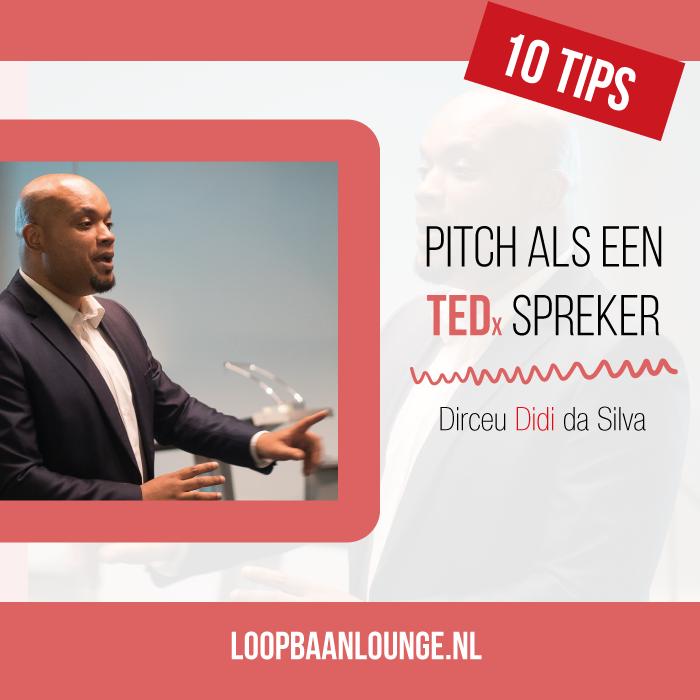 Dirceu da Silva Didi sprekerscoach TEDx Rotterdam Pitch Jezelf workshop